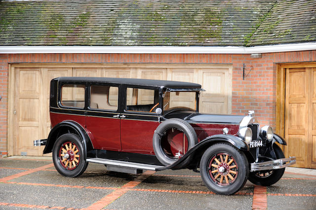 1928 McLaughlin-Buick Model 28.50C Master Six Sedan  Chassis no. 140873 Engine no. 2055727