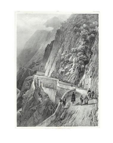JACOTTET (JEAN) Souvenirs des Pyrénées. Nouvelle excursion, part 2 (of 2), [c.1835]