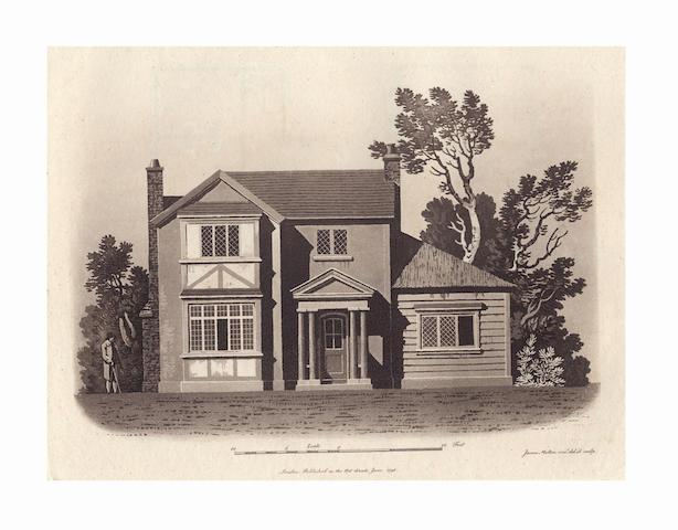 MALTON (JAMES) An Essay on British Cottage Architecture... Exemplified by Fourteen Designs, 1804