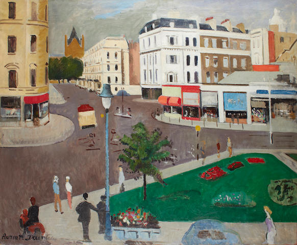 Adrian Daintrey (British, 1902-1988) 'South Kensington'