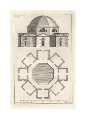 MORRIS (ROBERT) Select Architecture: Being Regular Designs of Plans and Elevations Well Suited to Both Town and Country, 1775