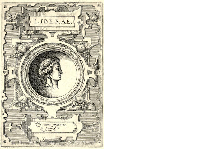 ORTELIUS (ABRAHAM) Deorum dearmuque capita, - ex line 108 (cancelled sale 19851, 108), 1573