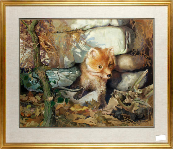 Spencer Roberts (born 1920) Fox Cub