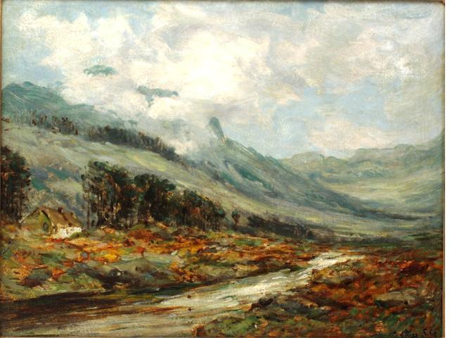 John Hamilton Glass (British, active 1890-1925) In a Rosshire Glen In a Ross-shire Glen