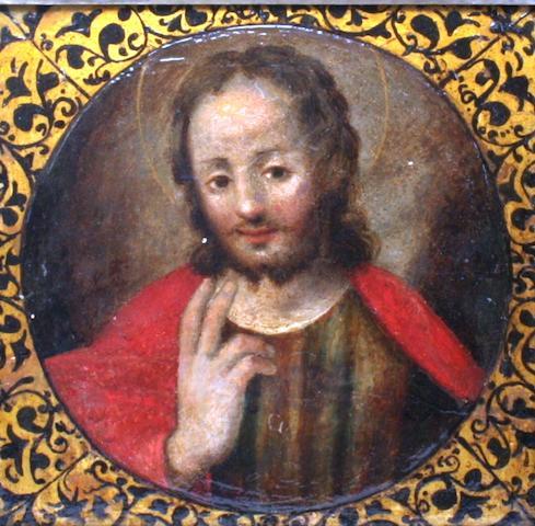 Spanish School, 18th Century Christ Pantocrator