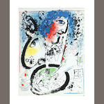 CHAGALL (MARC) The Lithographs of Chagall, vol. one and 2, ORIGINAL LITHOGRAPHS, 1960-1962
