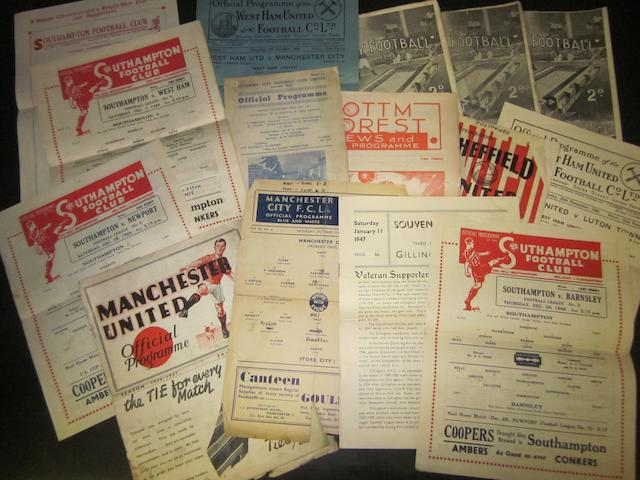 A collection of 1940's programmes