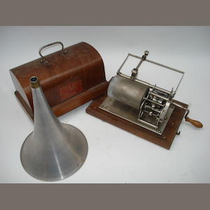 A Pathé phonograph,