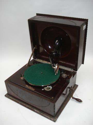 A Decca 'Deccalian' table gramophone,
