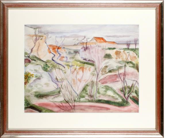 Bernard Meninsky (British, 1891-1950) 'Torremolinos'