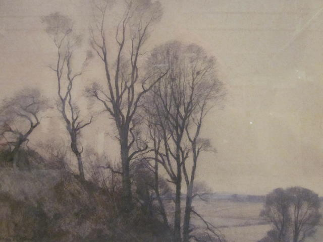 William Thomas Wood (British, 1877-1958) No 2 Edge of a Copse