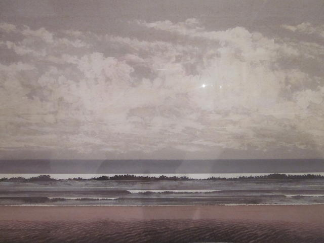 John Riches (British, 20th Century Horizontal wave formation No36