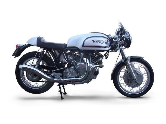 One owner, 20 kilometres from new,2005 'Norvin' 998cc Café Racer Frame no. R92270 Engine no. F10AB/1B/12100