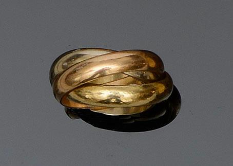 Cartier: A 'Trinity' ring