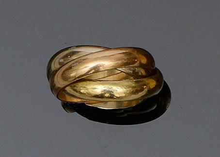 Cartier: A 'Trinity' ring