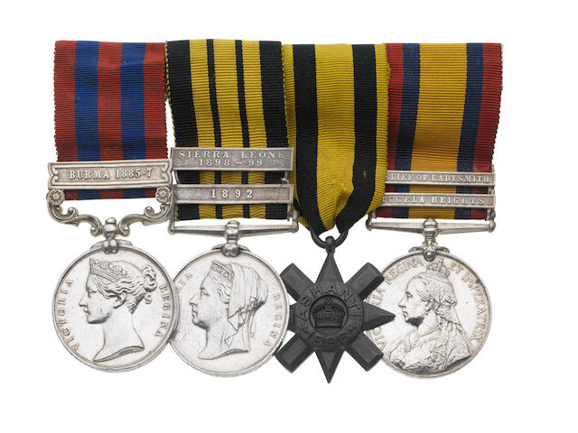 Four to Major J.Hickman, Royal Army Medical Corps,