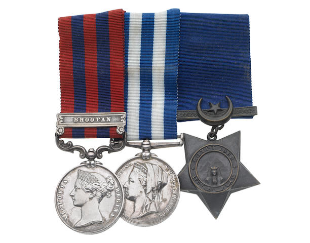 Three to Surgeon Major J.G.Davidge, Army Medical Department, late Royal Artillery,