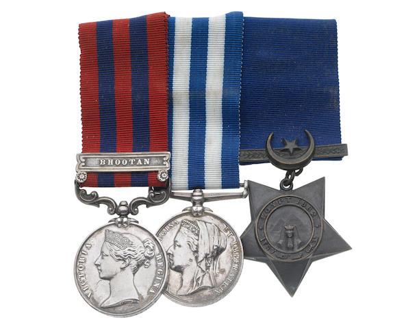 Three to Deputy Surgeon General J.G.Davidge, Army Medical Department, late Royal Artillery,