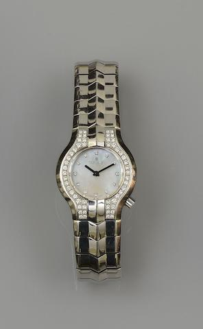 TAG Heuer: An Alter Ego diamond set lady's wristwatch