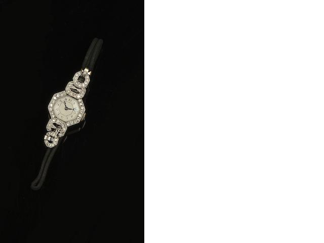 A diamond cocktail watch