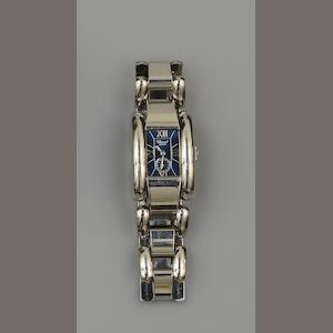 Chopard: A lady's stainless steel wristwatch