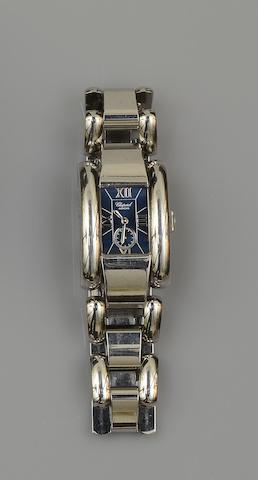 Chopard: A lady's stainless steel wristwatch