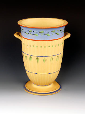 A Wedgwood caneware bough pot, circa 1785-95