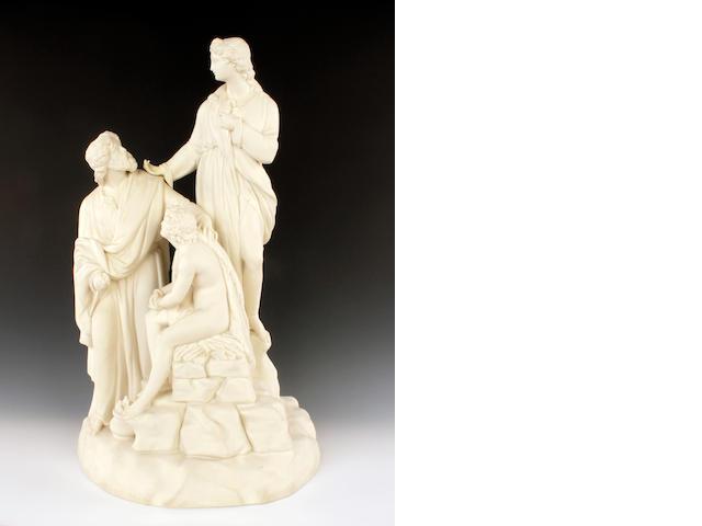Wedgwood                       Large figure group