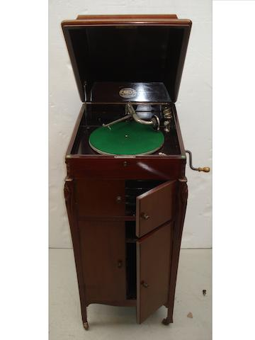 A Hines re-entrant gramophone,