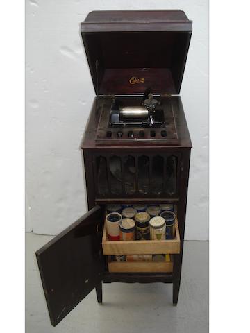 An Edison Amberola type 75 console phonograph,