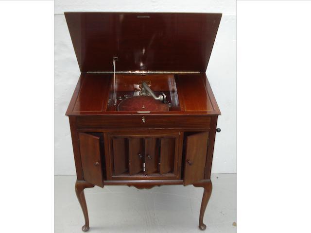 A Columbia Graphonola console grand gramophone,