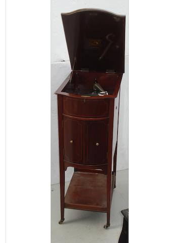 An HMV Model XI grand gramophone,