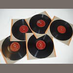 Gramophone & Typewriter Ltd red-label records: