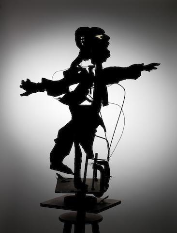 William Joseph Kentridge (South African, born 1955) Construction for 'Return' (tenor) 88 x 98 x 34 cm. (34 5/8 x 38 9/16 x 13 3/8in.)