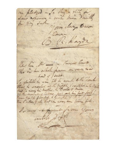 HAYDON, BENJAMIN ROBERT (1786-1846)