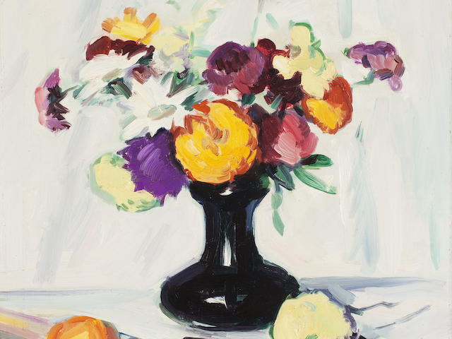 Samuel John Peploe, RSA (British, 1871-1935) 45.5 x 40.5 cm. (17 15/16 x 15 15/16 in.)
