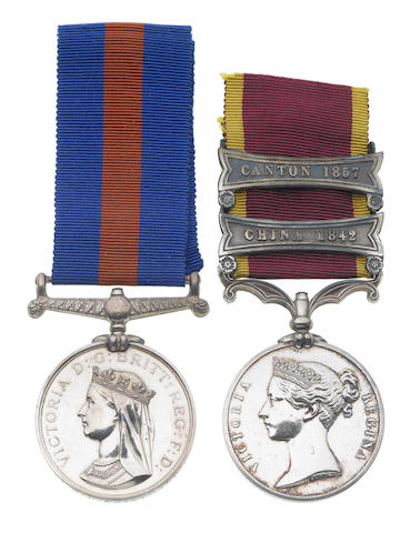 Pair to Assistant Surgeon R.D.Pritchard, Royal Navy,