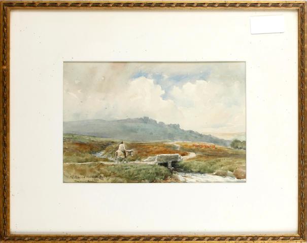 F. C. Pascoe Holman (19th Century) Tunhill Rocks