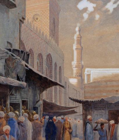 Robert George Talbot Kelly, R.I., R.B.A. (British, 1861-1934) 'Guk en Nahaseen, Cairo'
