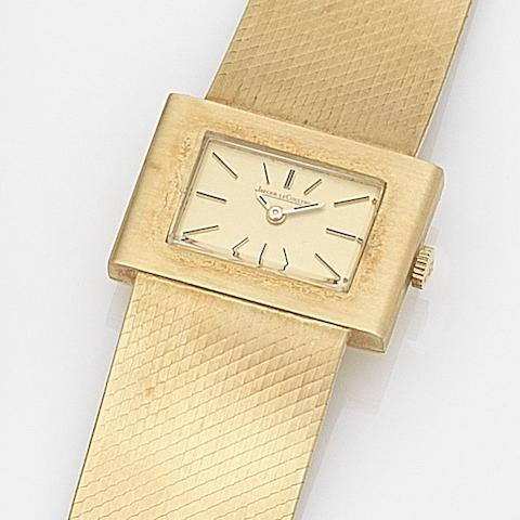 Jaeger-LeCoultre. An 18ct gold manual wind bracelet watchRef:6013, Case No.1223682A, Circa 1975