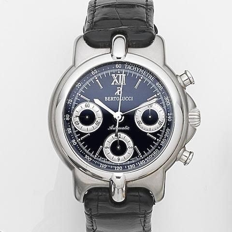 Bertolucci. A stainless steel automatic chronograph wristwatch Ref:664 41-94088, Circa 2000