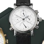 Paul Picot. A stainless steel automatic split seconds chronograph wristwatch with power reserve indicator Technicum, Ref:628, Case No.8888-4101, Circa 2005