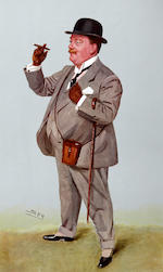 Leslie Matthew Ward (SPY) (British, 1851-1922) Various 'SPY' caricature prints