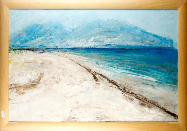 Barbara Robinson (British, born 1928) Mediterranean coast