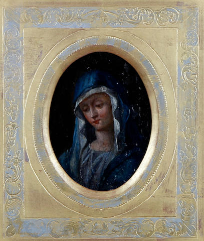 Continental School, (circa 1800) The Virgin Mary, in the manner of Il Salviati