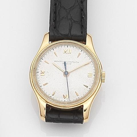 Vacheron Constantin. A lady's 18ct gold manual wind wristwatchCase No.303541, Movement No.458999, Circa 1945