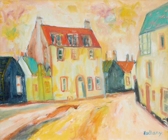 John Bellany CBE RA HRSA LLD(Lon) (British, born 1942) House