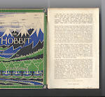 TOLKIEN (J.R.R.) The Hobbit or There and Back Again... Illustrated by the Author, FIRST EDITION, second impression, dust-jacket, 1937