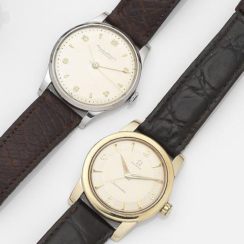 A lot of three various stainless steel 1960's wristwatches