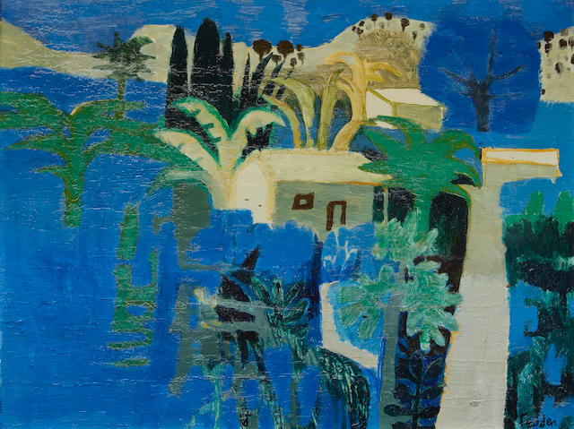 Mary Fedden R.A. (British, 1915-2012) Kabaka Lake